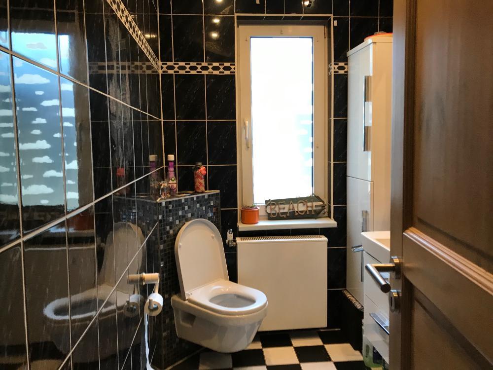 Bad oben Dusche