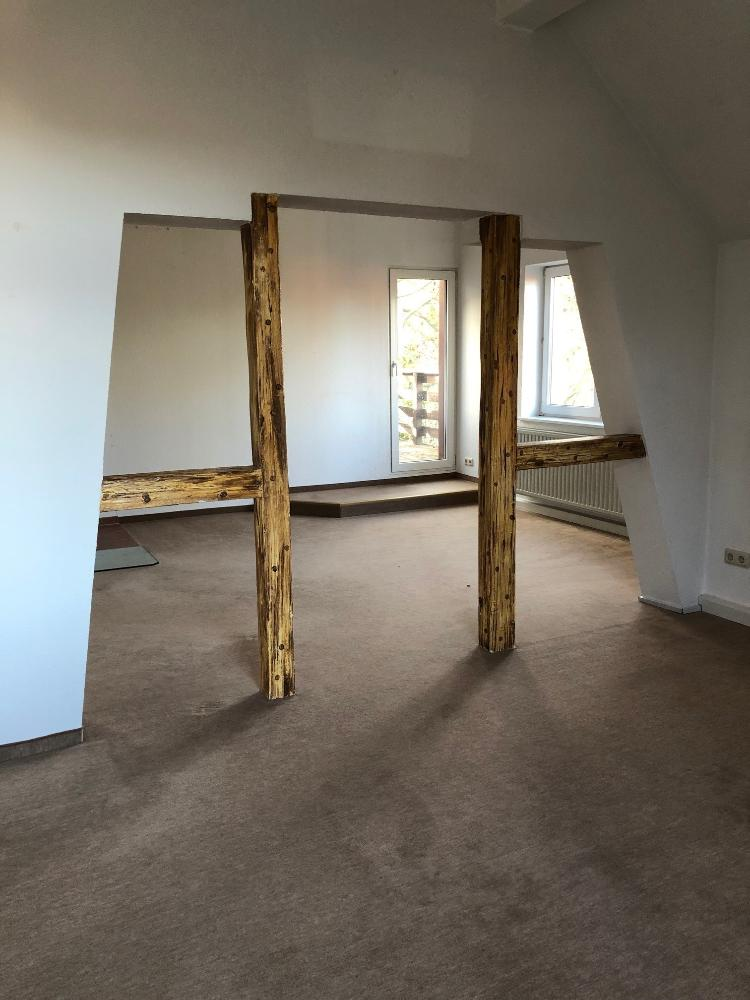 Zimmer mit Fachwerk