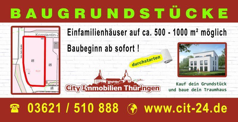 Baugrundstücke Gotha West