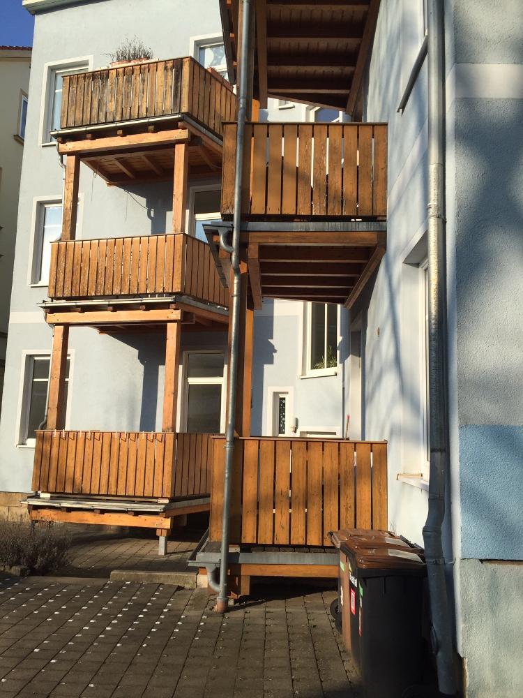 Eingang Balkon